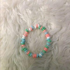 Homemade by me Small world bracelet